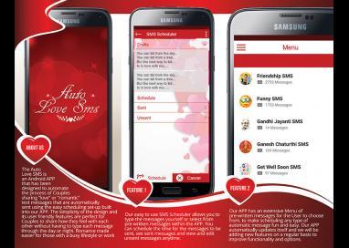 Auto love sms