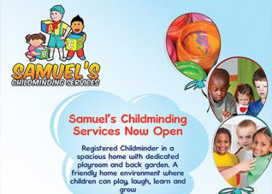 Samuel's chilcminding services