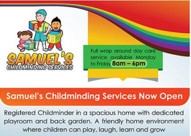 Samuel's chilcminding services 2